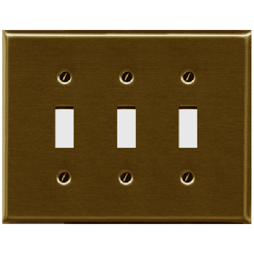 Triple Toggle Wall Plate