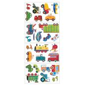 Peel and Stick Wall Decals - Transportation