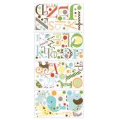 Peel and Stick Wall Decals - Animal and Alphabet
