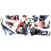 Peel and Stick Wall Decals - Hockey player