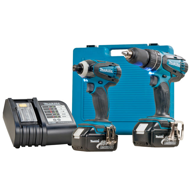 18-v Hammer Drill And Impact Driver