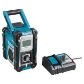 Teal Metal Plastic Jobsite Radio - Cordless - 18 V