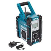 Cordless or Electric Job Site Radio -Plastic - Teal
