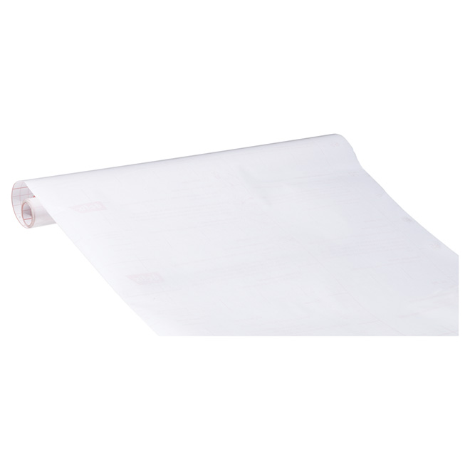 Film vinyle autocollant mat transparent rona for Pellicule de plastique pour fenetre