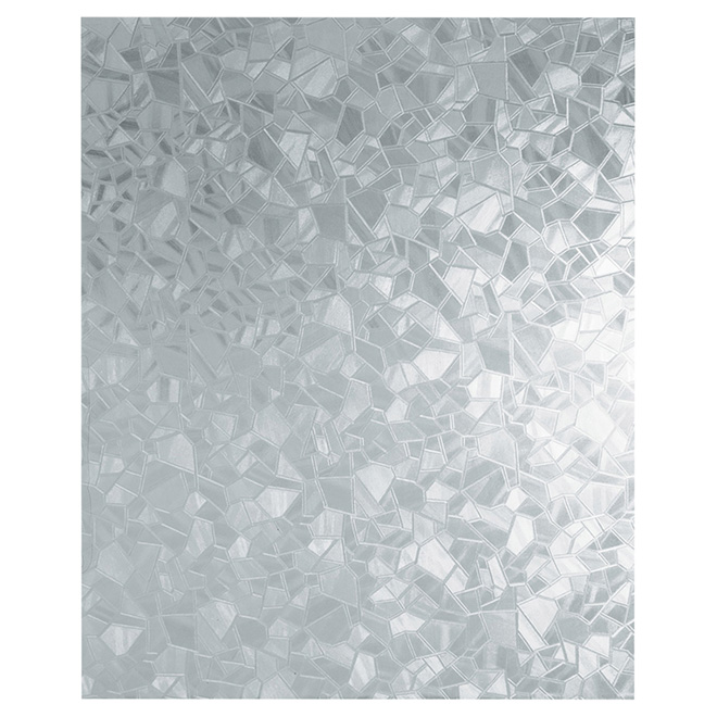 Self-Adhesive Window Film, Splinter Pattern