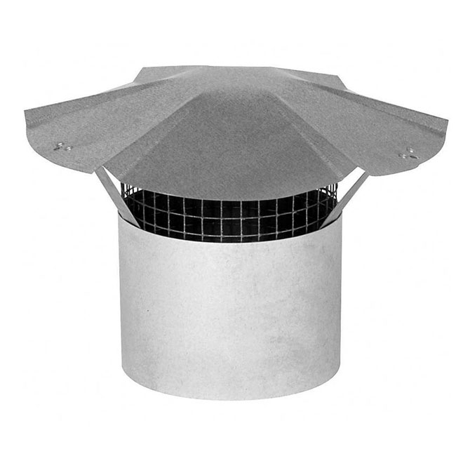 "9"" Galvanized Steel Chimney Cap"