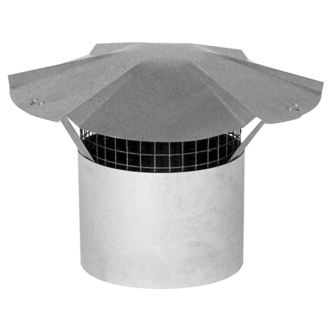 "3"" Galvanized Steel Chimney Cap"