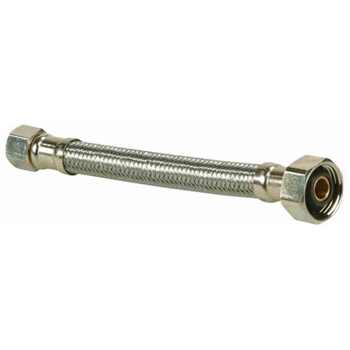 Flexible Connector for Faucet - Stainless Steel