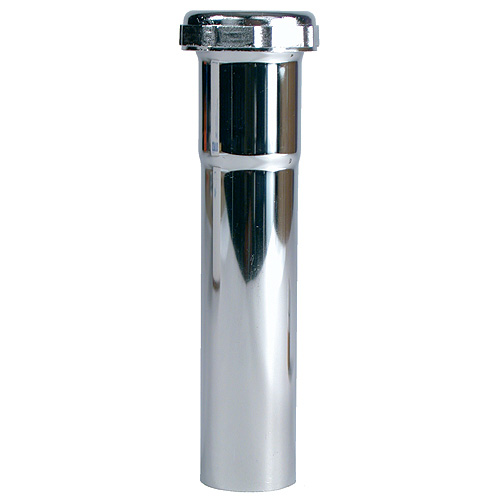 "Tube de rallonge, 1 1/4"" x 6"", chrome"