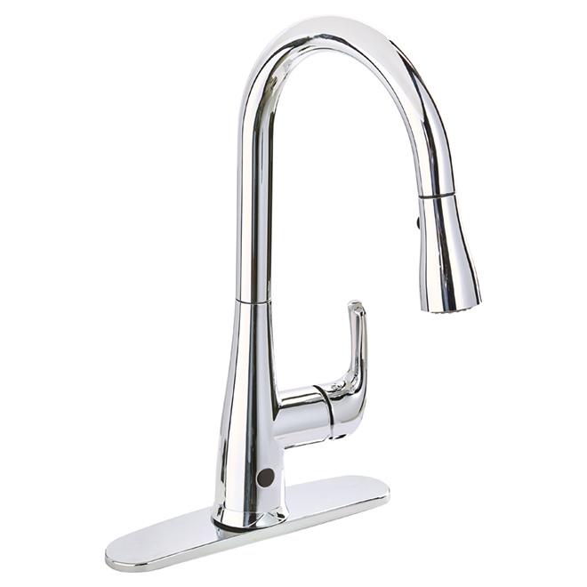 Robinet avec d tecteur de mouvement nexo chrome poli for Robinet salle de bain rona
