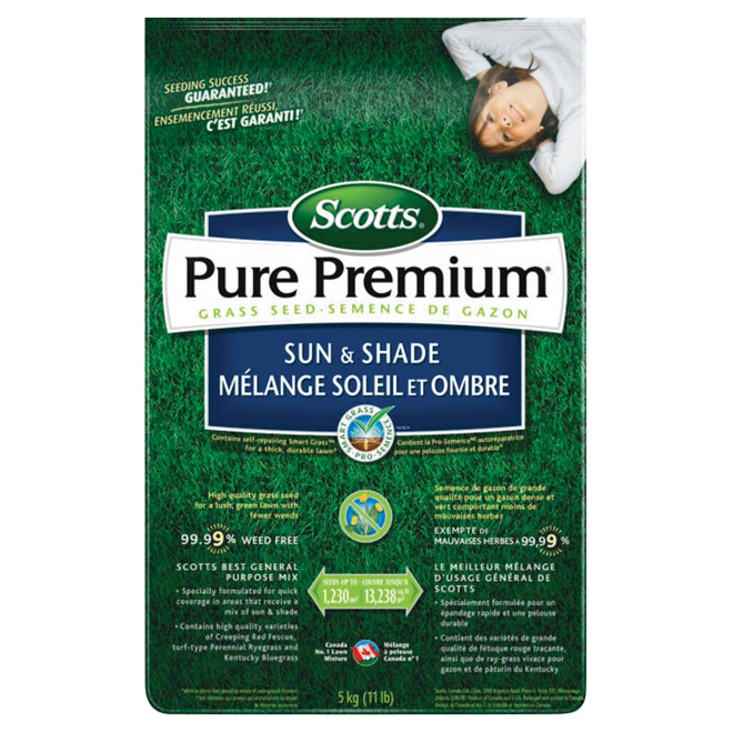 "Grass Seed - 5 kg ""Sun and Shade"" Grass Seed"