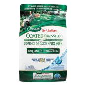 Coated grass seed
