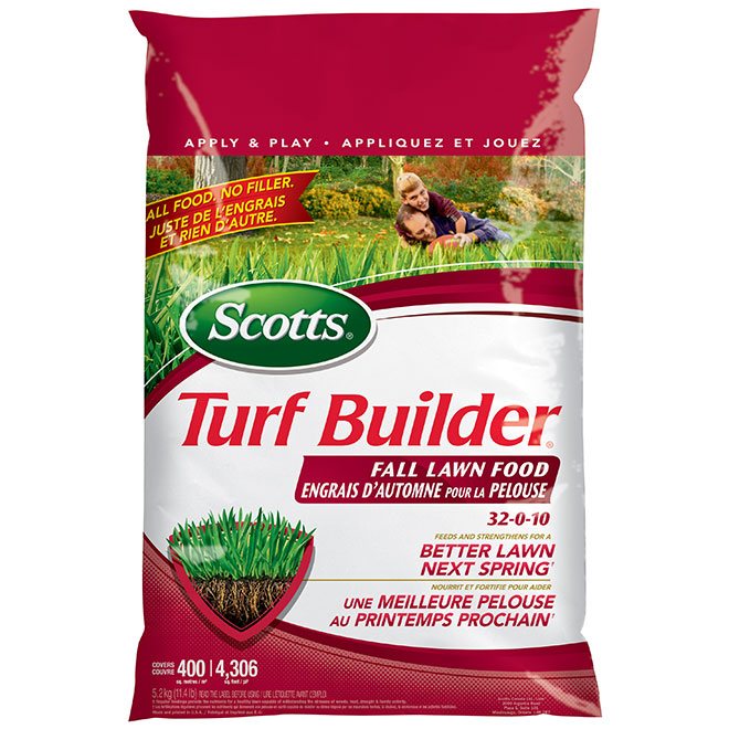 Turf Builder 32-0-10 Fall Lawn Fertilizer - 5.9 kg