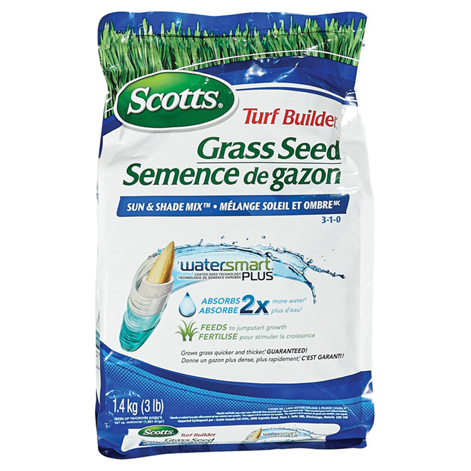 Sun and Shade Grass Seed - 1.4 kg