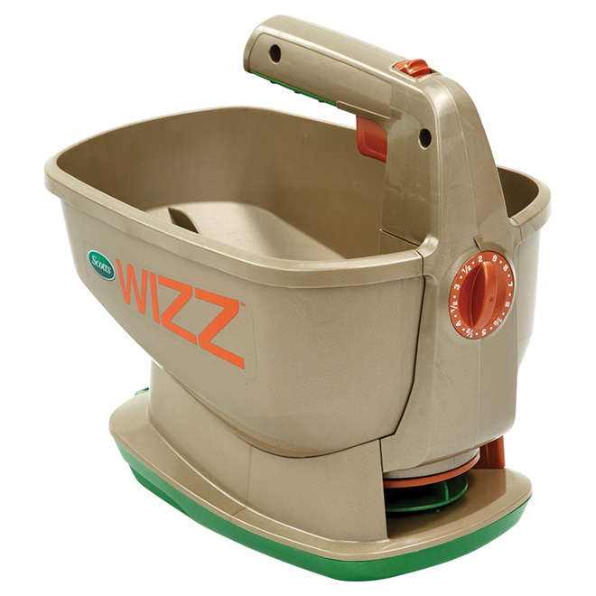 Wizz(TM) Year-Round Battery-Operated Hand-Held Spreader