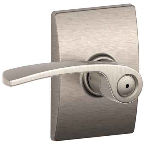 """Century/Merano"" Privacy Lever - Satin Nickel"
