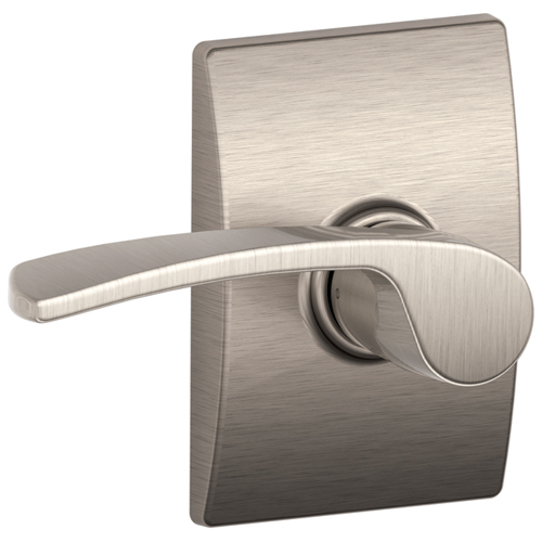 """Century/Merano"" Passage Lever - Satin Nickel"