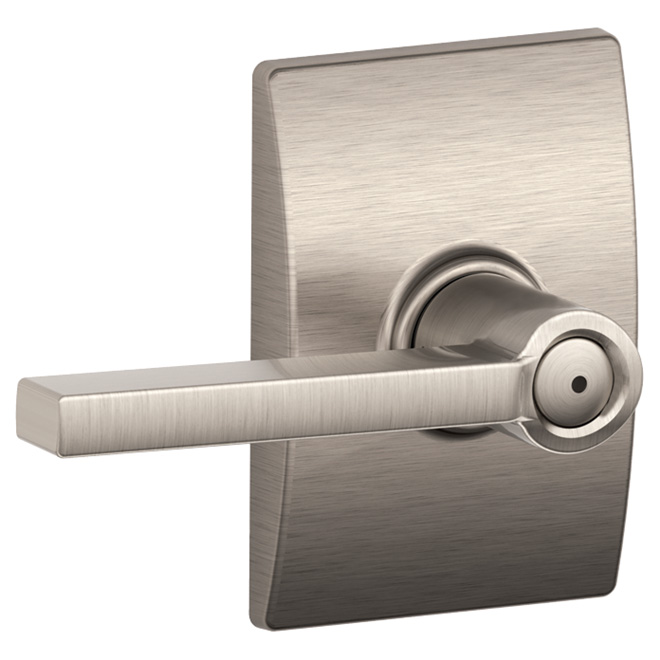 Century Latitude Lockable Lever Interior Door Handle Set