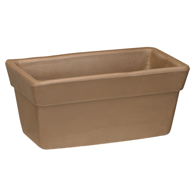 jardini re en terre cuite silma 11 3 4 po chocolat rona. Black Bedroom Furniture Sets. Home Design Ideas