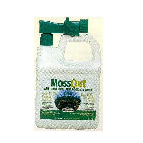 """MOSS OUT"" With Lawn Food 5-0-0"