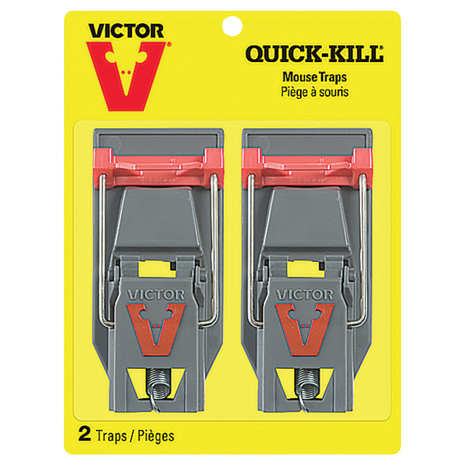 Pack of 2 Plastic Mouse Trap