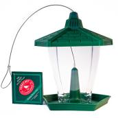 Bird Feeder Chalet - 1.25 lb - Green