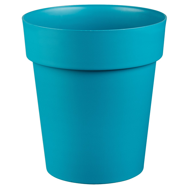 "Planter Pot - ""Viva"" - 11"" - Flat Blue"