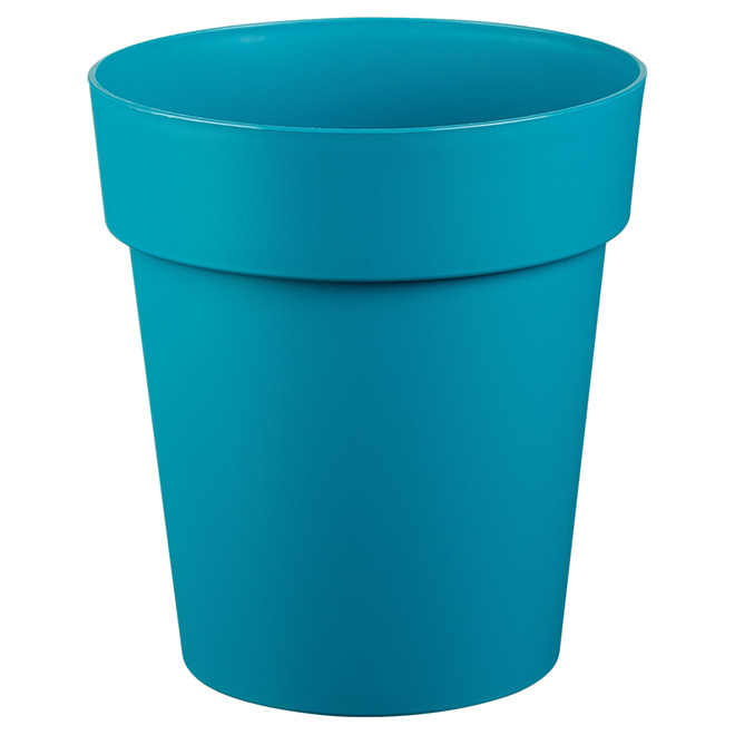 "Planter Pot - ""Viva"" - 9"" - Flat Blue"