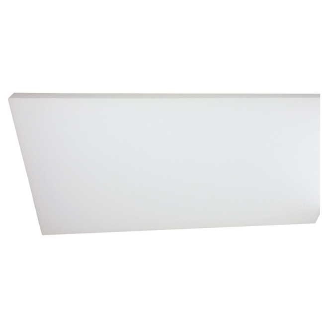 "EPS Insulation Panel Type I - 3/4"" x 14,5"" x 48"" - White"