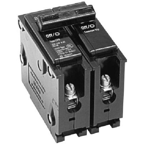 120 240 vac 50 a br circuit breaker 2 pole plug in rona. Black Bedroom Furniture Sets. Home Design Ideas