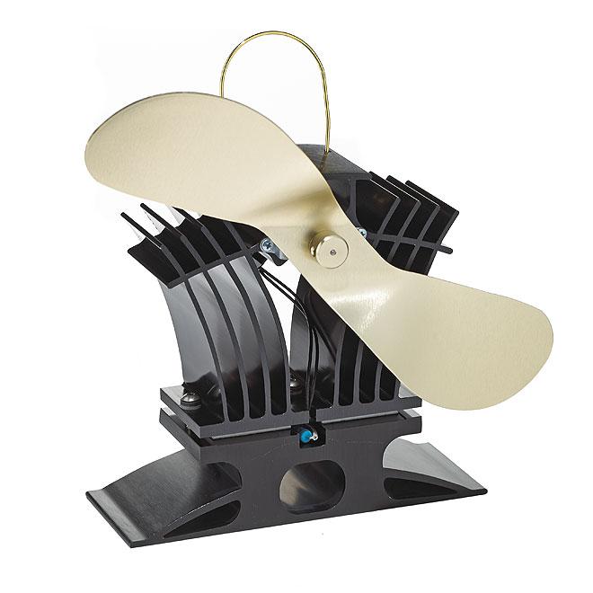 ventilateur ecofan pour po le au granule ou au gaz noir or rona. Black Bedroom Furniture Sets. Home Design Ideas