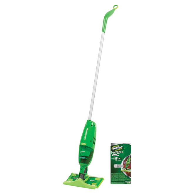 """Swiffer Sweepervac"" Vacuum Sweeper Starter Kit"