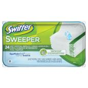 Recharges de linges humides pour balai « Swiffer Sweeper »