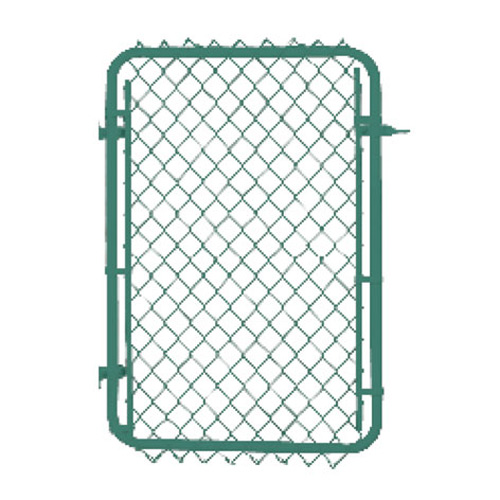 "Galvanized Chain-Link Fence Gate - 60"" x 40"""
