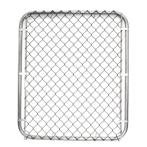 "Galvanized Chain-Link Fence Gate - 60""x 40"""