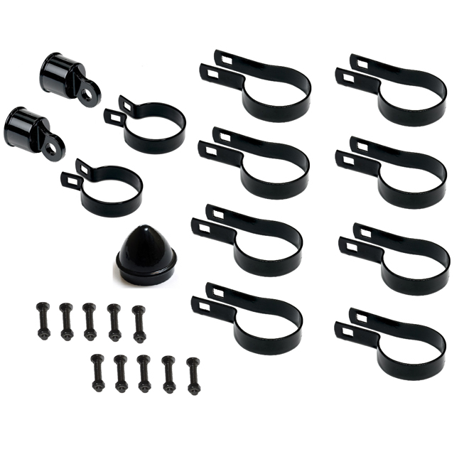 Steel Corner Post Hardware Kit