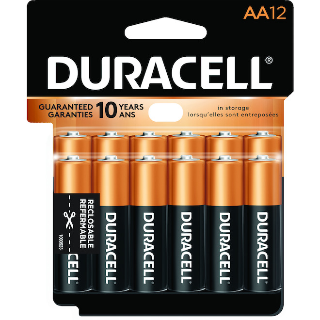 Pack of 12-AA Batteries
