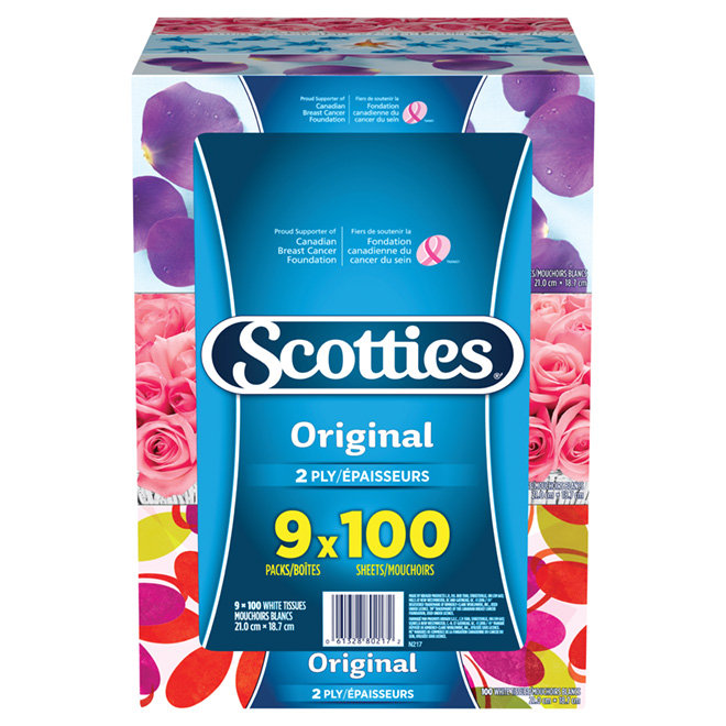 Scotties Facial Tissues - 9-Pack