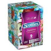 Papier-mouchoir Scotties, paquet de 9