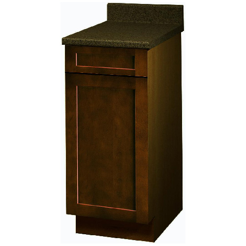 """Everwood"" 1 Door 1 Drawer Base Cabinet 12 in."