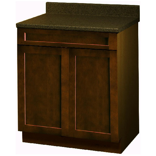 """Everwood"" 2 Doors 1 Drawer Base Cabinet 24 in."