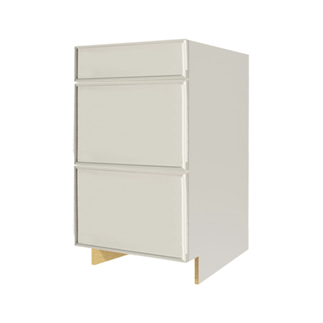 """Harlow"" 3 drawers Lower Cabinet"