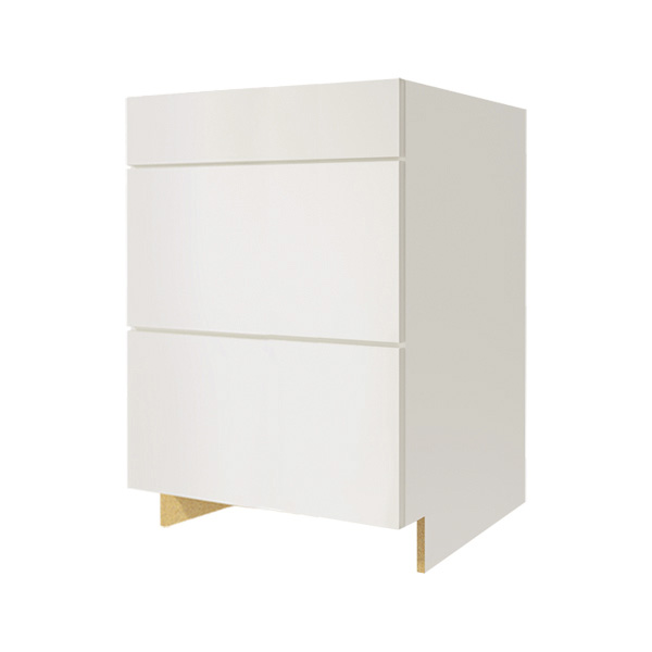 """Alouette"" 3 drawers Lower Cabinet"