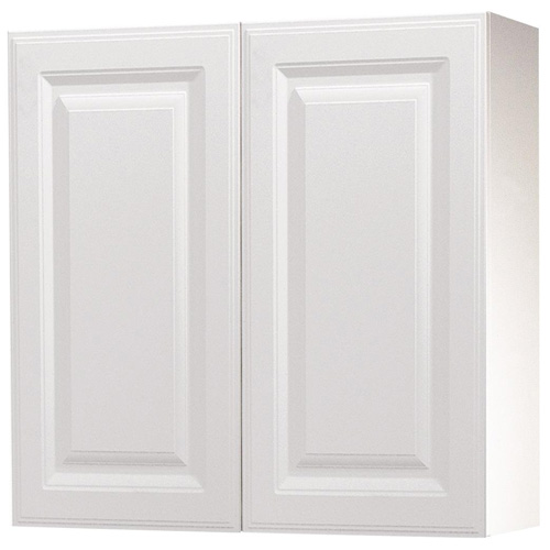 "Wall Cabinet with 2 Doors - ""Marquis"" - 30"" - White"