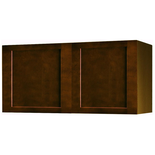 "Wall Cabinet with 2 Doors - ""Everwood"" - 24"" - Espresso"