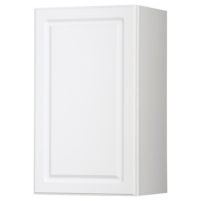 "Wall Cabinet - Marquis - 1 Door - 18"" x 30"" - White"