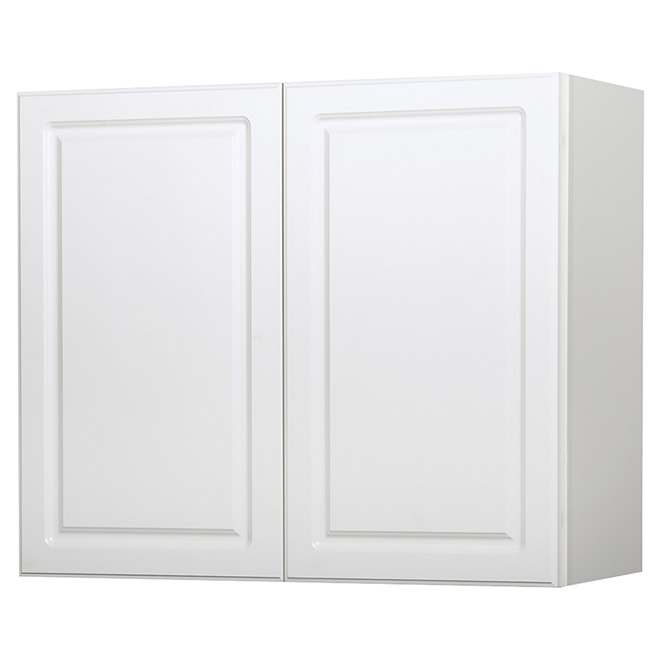 "Wall Cabinet - Marquis - 2 Doors - 36"" x 30"" - White"