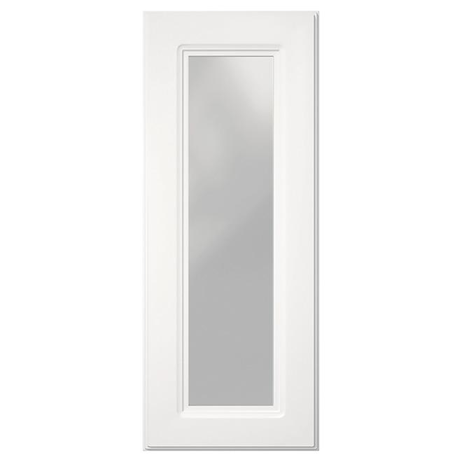 Porte vitr e pour armoire marquis 12 x 30 blanc rona - Marquise pour cadre photo ...