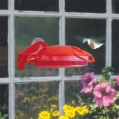 Hummingbird Feeder - 6 oz - Plastic - Red