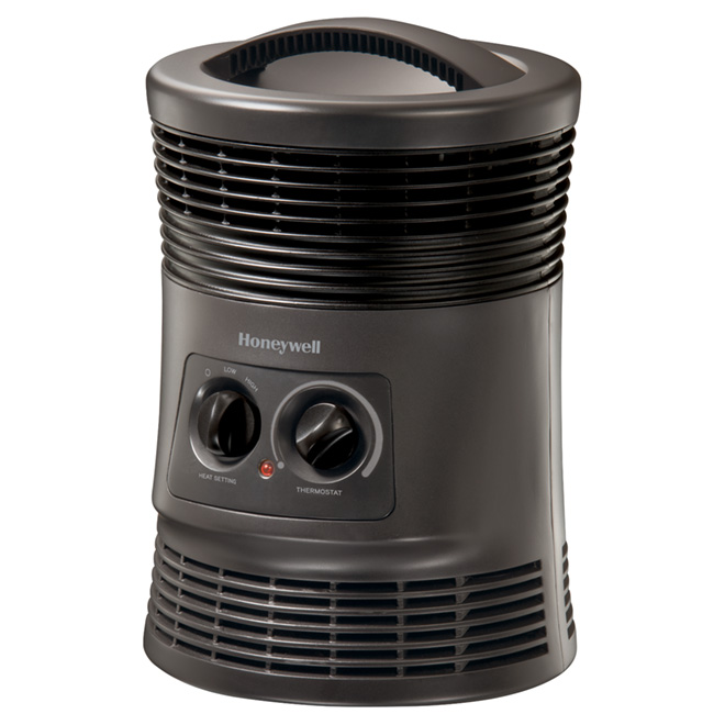 Fan Forced Heater - 360° - 750 To 1500 W